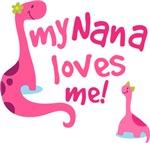 My Nana Loves Me T Shirts for Kids