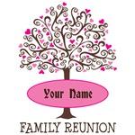 Family Reunion Love Tree T-shirts