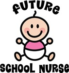 Baby Girl Future School Nurse Tees