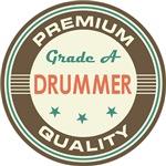 Drummer T-shirts (Premium Quality)