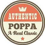 Authentic Poppa Vintage Gifts and T-Shirts