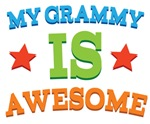 My Grammy Is Awesome Kids Tshirts