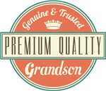 Premium Vintage Grandson Gifts and T-Shirts