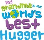 Grandma Is Worlds Best Hugger