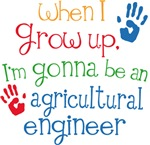Future Agricultural Engineer Kids T-shirt