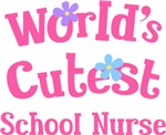 Worlds Cutest School Nurse T-shirts