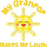 My Granpop Makes Me Laugh Kids Apparel