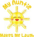 My Auntie Makes Me Laugh Kids Apparel