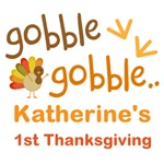 Personalized Baby Thanksgiving Tee Shirts