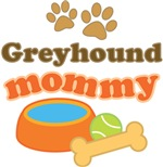 Greyhound Mom T-shirts and Gifts