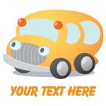 Personalized School Bus T-shirts