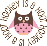 HOCKEY IS A HOOT OWL TEES AND GIFTS