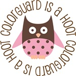 COLORGUARD IS A HOOT OWL TEES AND GIFTS