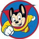 Mighty Mouse TV Fan Tee Shirts