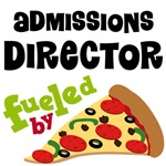 Admissions director Pizza T-shirts