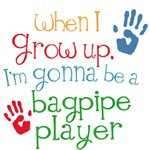 Future Bagpipe Player Kids Music Tees