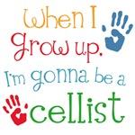 Future Cellist Kids Music Tees