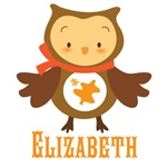 Personalized Autumn Owl T-shirts