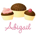 Personalized Chocolate Cupcake Gifts and Shirts