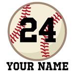 Personalized Baseball Player Hoodies and Shirts