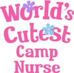 Worlds Cutest Camp Nurse Gifts and Tshirts