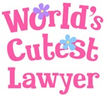 Worlds Cutest Lawyer Gifts and Tshirts