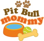 Pit Bull Mom T-shirts and Gifts