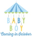 Baby Boy Coming in October Due Date Maternity