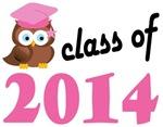 Class of 2014 Graduation Tee Shirts (owl)