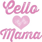 Cello Mama Orchestra Music Tees