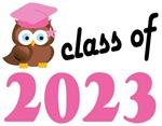 Class of 2023 Graduation Tee Shirts (owl)