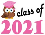 Class of 2021 Graduation Tee Shirts (owl)