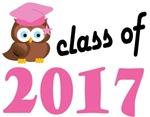 Class of 2017 Graduation Tee Shirts (owl)
