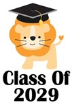 Class of 2029 Lion Graduation Design
