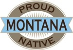 Proud Montana Native T-shirts