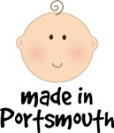 Made In Portsmouth baby tees