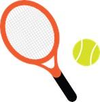 Tennis Racket and Ball T-shirts