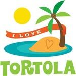I Love Tortola T-shirts
