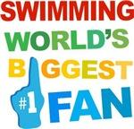 Swimming Fan Sports T-shirts