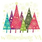 Williamsburg Virginia Holiday Tshirts