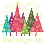 Anchorage Alaska Holiday Tshirts
