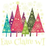Eau Claire Wisconsin Holiday Tshirts
