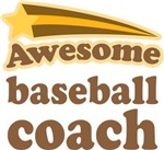 Awesome Baseball Coach T-shirts