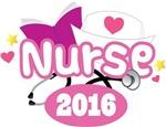 Cute New Nurse 2016 T-shirt Gifts