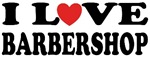 I Love Heart Barbershop Music