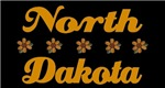 North Dakota daisy T-shirts and Gifts