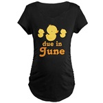 Pregnancy Due Date Maternity T-shirts