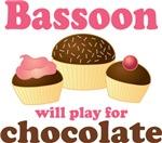 Bassoon Chocolate Slogan T-shirts