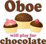 Oboist Chocolate Slogan T-shirts