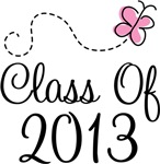 Pink Grad Class Of 2013